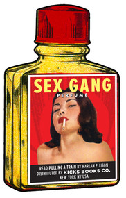 KBSP4 SEX GANG PERFUME HARLAN ELLISON FRAGRANCE #1