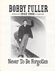 BOBBY FULLER ANNIVERSARY BOOKLET