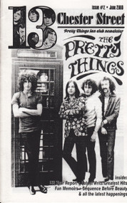 PRETTY THINGS FAN CLUB 'ZINE 13 CHESTER STREET #2