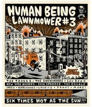 HUMAN BEING LAWNMOWER #3