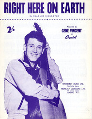 GENE VINCENT - RIGHT HERE ON EARTH