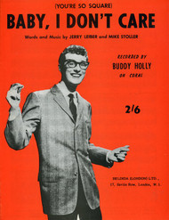 BUDDY HOLLY - (YOU'RE SO SQUARE) BABY, I DON'T CARE