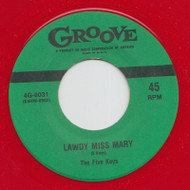 FIVE KEYS - LAWDY MISS MARY (red wax)