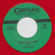 FIVE KEYS - LAWDY MISS MARY (red wax)