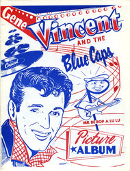 GENE VINCENT - MR BE BOP A LULA PICTURE ALBUM