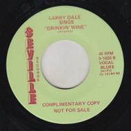 LARRY DALE SINGS DRINKIN' WINE