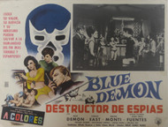 BLUE DEMON: DESTRUCTOR DE ESPIAS