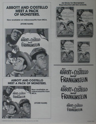 ABBOTT AND COSTELLO MEET A PACK OF MONSTERS