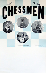 KEVIE & THE CHESSMEN POSTER