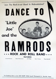 LITTLE JOE & THE RAMRODS POSTER - 2