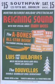 REIGNING SOUND / MARY WEISS / A-BONES / HANNIBAL POSTER (2007)