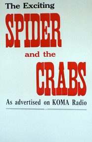 SPIDER & THE CRABS POSTER