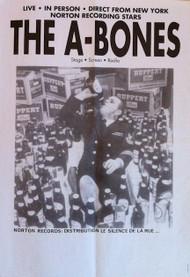 A-BONES -  FRANCE TOUR POSTER (1992)
