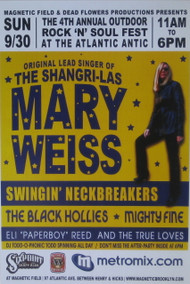 MARY WEISS / SWINGIN NECKBREAKERS POSTER (2007)