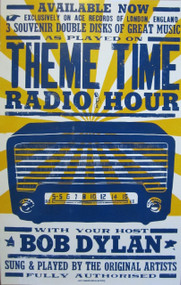 BOB DYLAN THEME TIME RADIO HOUR POSTER