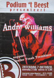 ANDRE WILLIAMS (POSTER FROM HOLLAND)