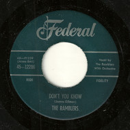 RAMBLERS - DON'T YOU KNOW