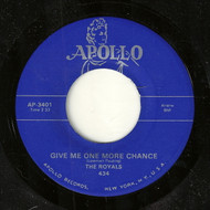 ROYALS - GIVE ME ONE MORE CHANCE