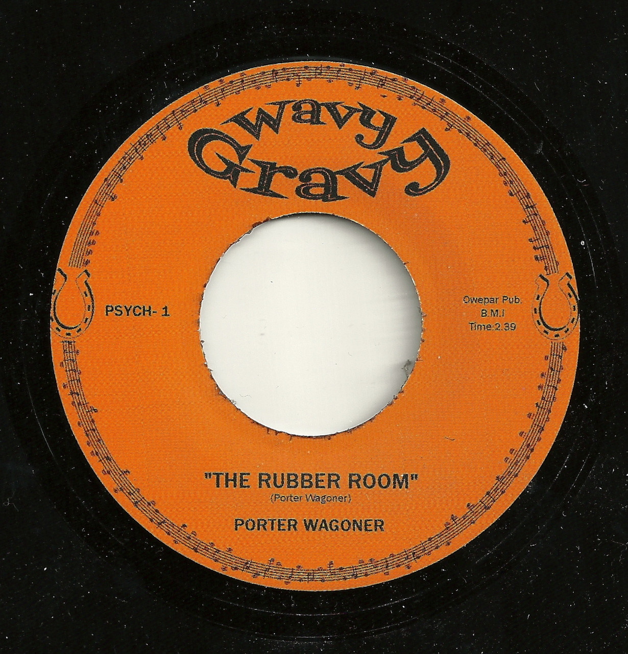 Porter Wagoner The Rubber Room Norton Records