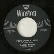 DARRELL RHODES - FOUR O'CLOCK BABY