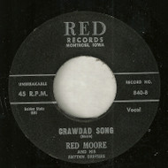 RED MOORE - CRAWDAD SONG