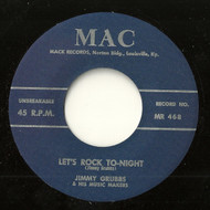 JIMMY GRUBBS – LET'S ROCK TO-NIGHT