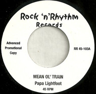 PAPA LIGHTFOOT - MEAN OL' TRAIN
