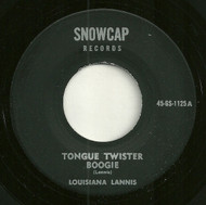 LOUISIANA LANNIS - TONGUE TWISTER BOOGIE