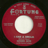 NATHANIEL MAYER - I HAD A DREAM
