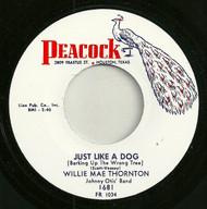 BIG MAMA THORNTON - JUST LIKE A DOG