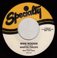 MARVIN PHILLIPS - WINE BOOGIE