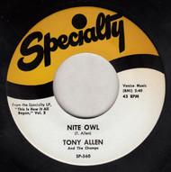 ALLEN • TONY ALLEN - NITE OWL