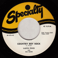 LLOYD PRICE - COUNTRY BOY ROCK