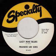 FRANKIE LEE SIMS - LUCY MAE BLUES RnB45-1184-12