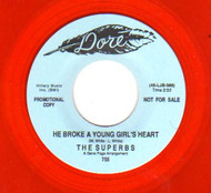 THE SUPERBS - HE BROKE A YOUNG GIRL'S HEART