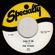 THE TITANS - CAN IT BE
