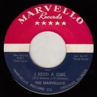 MARVELLOS - I NEED A GIRL
