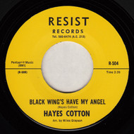 HAYES COTTON - BLACK WINGS HAVE MY ANGEL