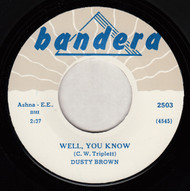 DUSTY BROWN - WELL YOU KNOW