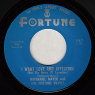 NATHANIEL MAYER - I WANT LOVE AND AFFECTION (NOT THE HOUSE OF CORRECTION)