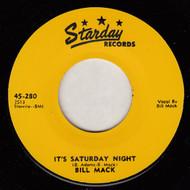 BILL MACK - IT'S SATURDAY NIGHT
