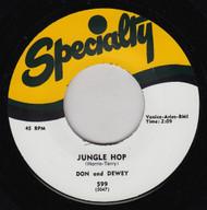 DON AND DEWEY - JUNGLE HOP / A LITTLE LOVE