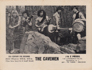THE CAVEMEN PROMO PHOTO