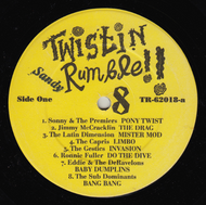 TWISTIN' RUMBLE VOL. 8 (SANDY)