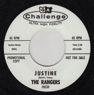 THE RANGERS - JUSTINE