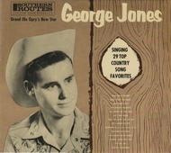 GEORGE JONES - SINGING 29 TOP COUNTRY SONG FAVORITES CD