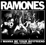 065 RAMONES - LTD CLEAR WAX - I WANNA BE YOUR BOYFRIEND / JUDY IS A PUNK (Clear Vinyl)