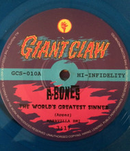 A-BONES - THE WORLD'S GREATEST SINNER / SHANTY TRAMP (no sleeve)