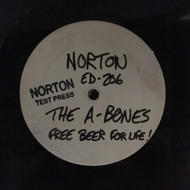 206 A-BONES - FREE BEER FOR LIFE LP (NTP-206)