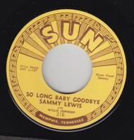 LEWIS • SAMMY LEWIS - SO LONG BABY GOODBYE